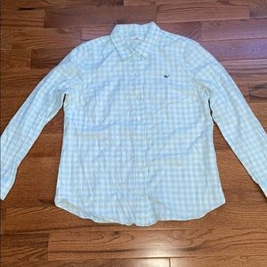 Vineyard Vines Button Down Plaid Shirt